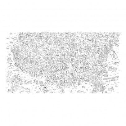 Omy USA Giant Colouring-in Poster-listing