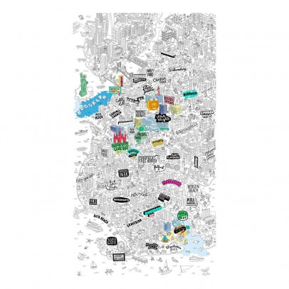 Omy Brooklyn Giant Colouring-in Poster-listing