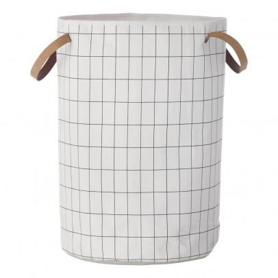 Ferm Living Grey Basket - Large Model - 40x60cm-listing
