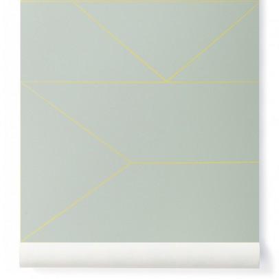 papier peint confetti or rose poudr ferm living design adulte. Black Bedroom Furniture Sets. Home Design Ideas