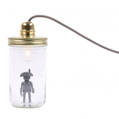 La tête dans le bocal Playmobil jar desk lamp-listing