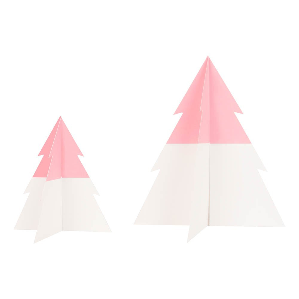 Two Toned Christmas Tree   Light Pink Product