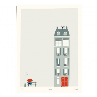 Pleased to meet Poster - Paris 30x40 cm Limited Edition-listing