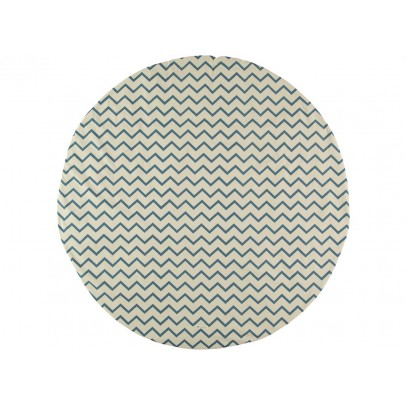 Nobodinoz Cotton Playmat - Zig Zag Pattern-listing