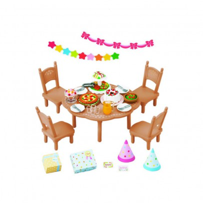Sylvanian Surprise Party Set-listing
