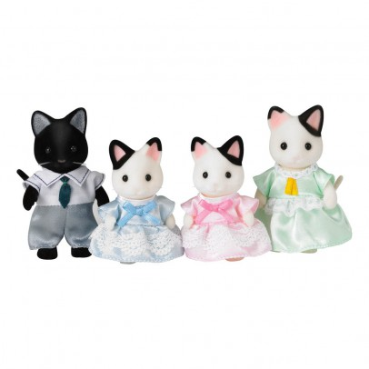 Sylvanian Two-tone Cat Family Set-listing