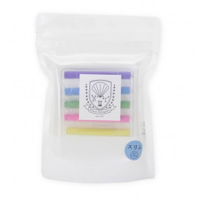 Kitpas Thin Dustless Chalk, Colored - Set of 6-listing