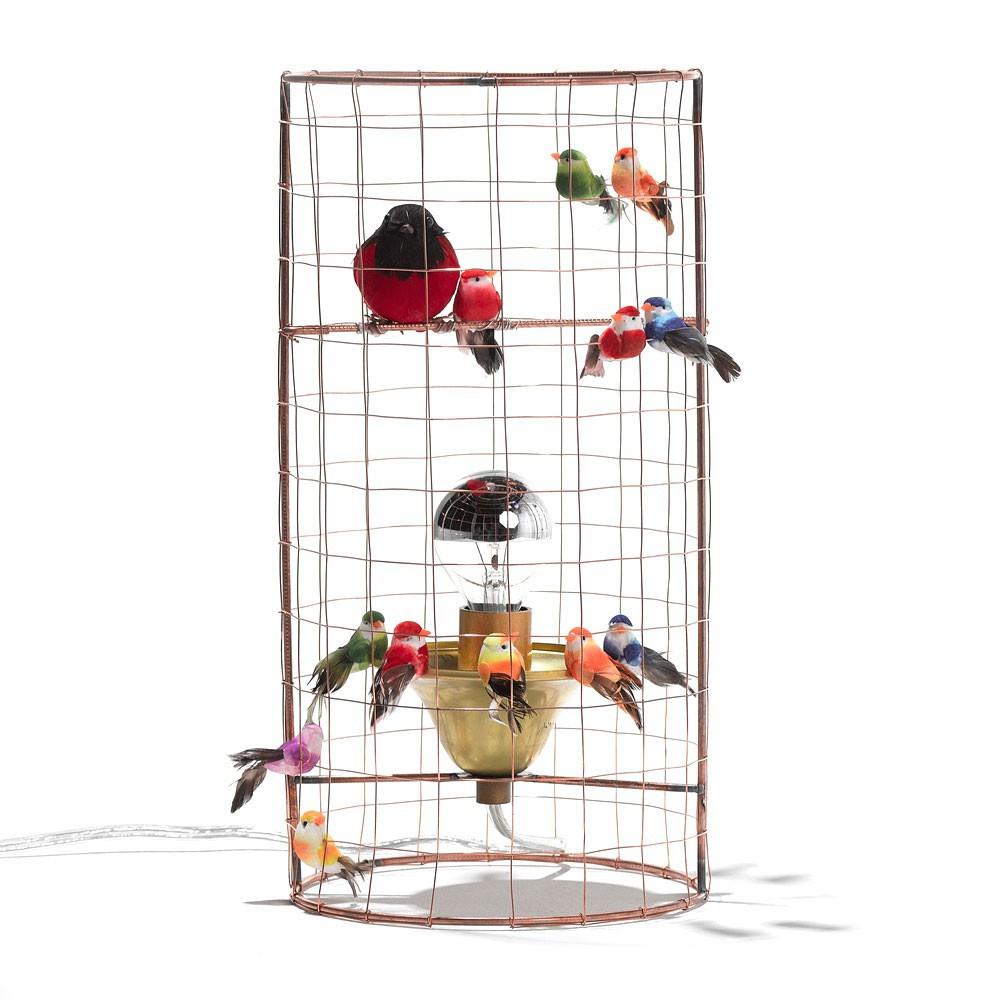 mathieu res lamp multicoloured challi mini challieres product adjustable birdcage