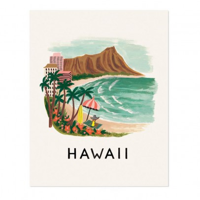 Rifle Paper Co Rifle Paper Hawaii Poster - 28x35 cm-listing