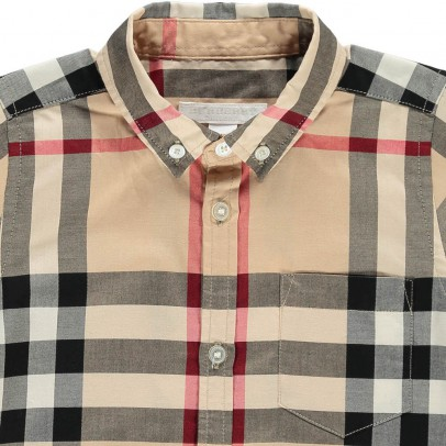Burberry Fred Tartan Blouse-product