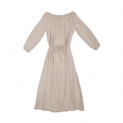 Kurzes kleid aus lyocell