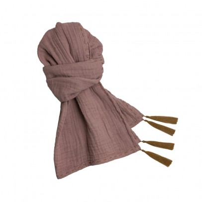 Numero 74 Foulard Pompons 55*160  - Collection Ado et Femme - -product