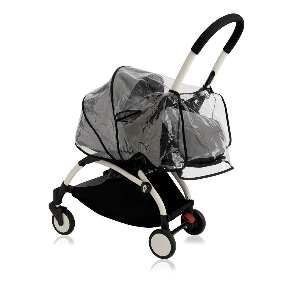 Complete New YOYO+ Newborn Baby Stroller, Birth 0-6 months, Black