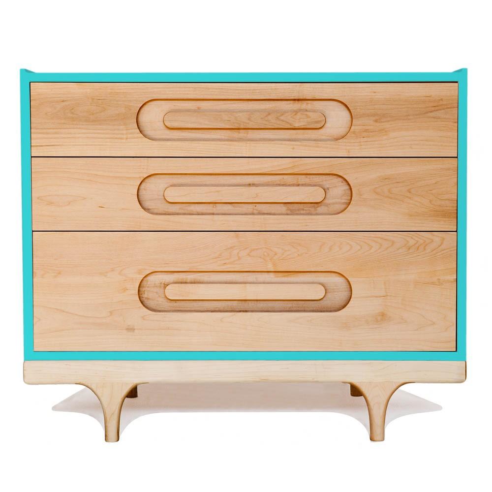 Kommode Caravan-Blau Blau Kalon Studios Design Baby , Kind