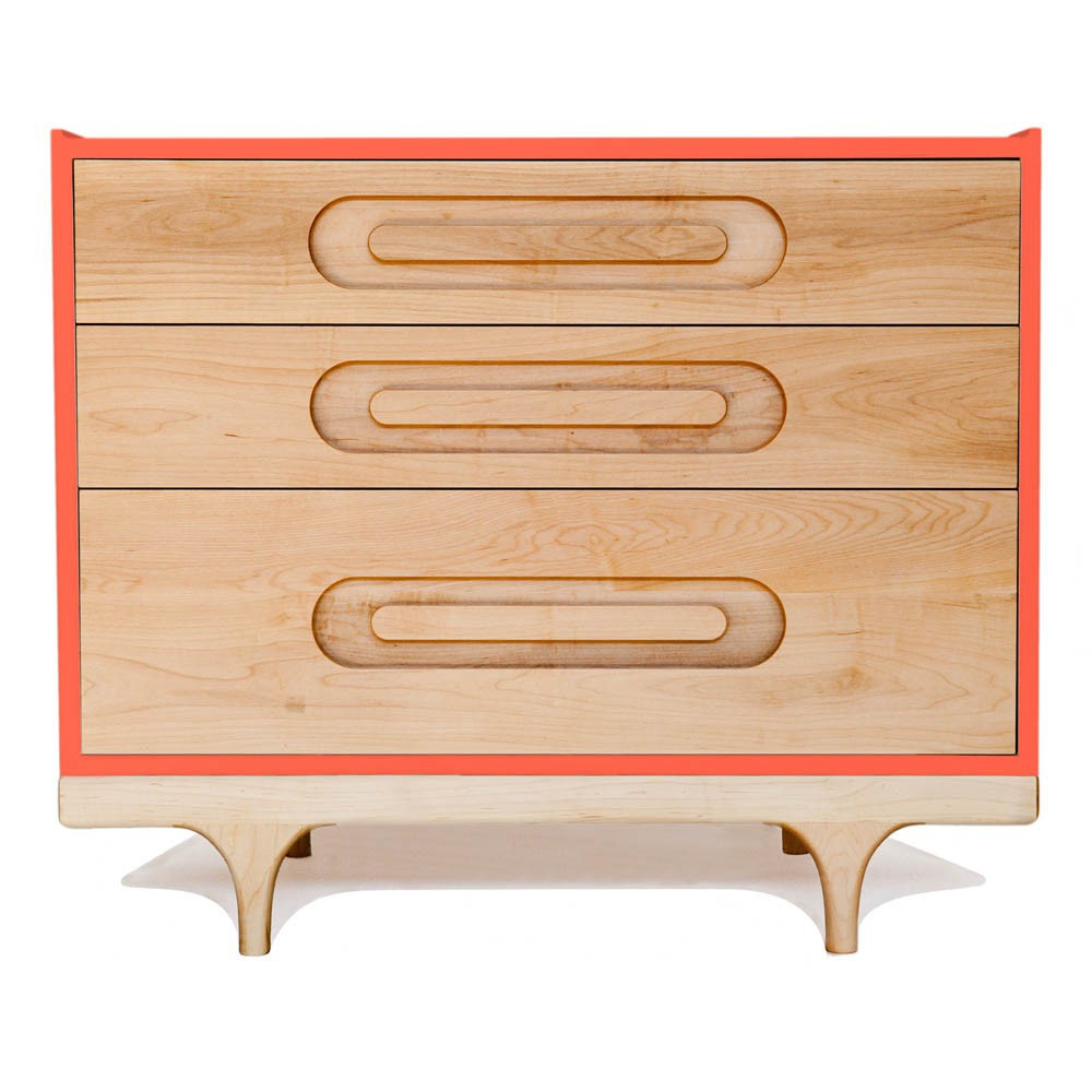 Commode Caravan - Rouge Corail-product
