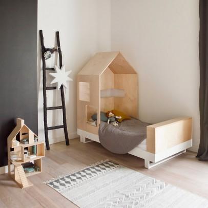 schr ger schreibtisch natur kutikai design kind. Black Bedroom Furniture Sets. Home Design Ideas