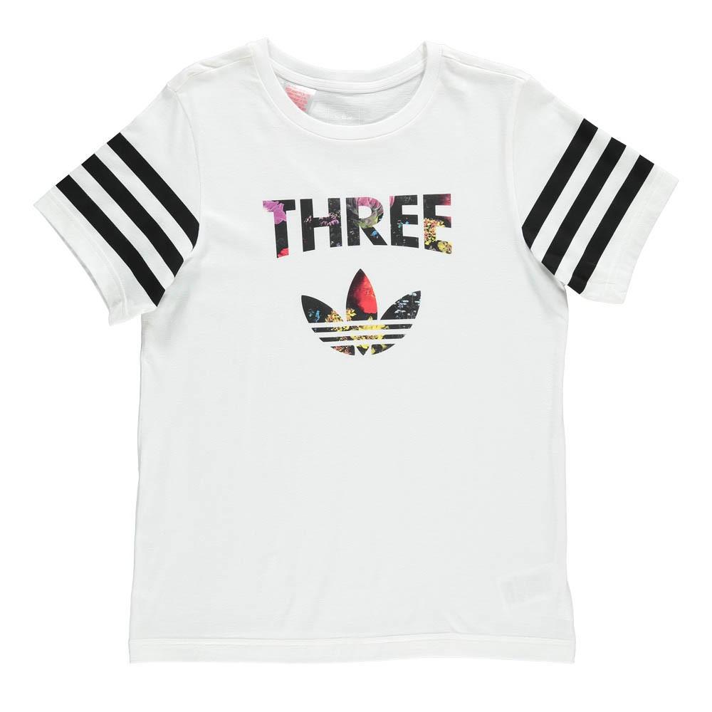 camiseta niña adidas flores