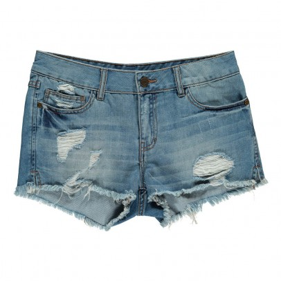 Labdip Clara Distressed Pattern Shorts-listing