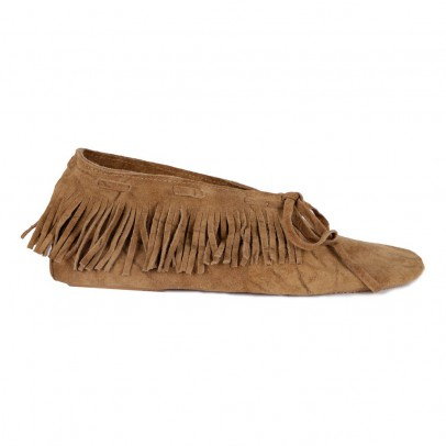 Anniel Fringed Low Ankle Boots-listing