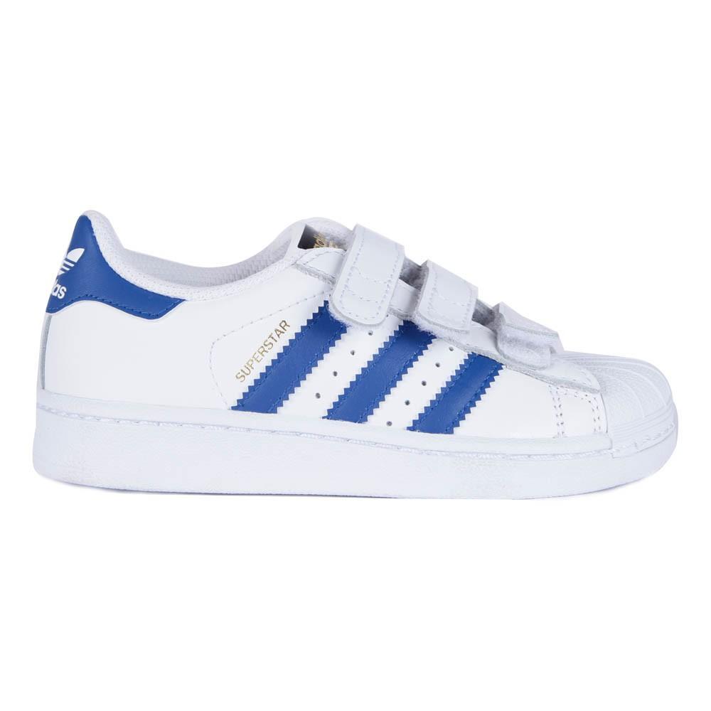 adidas superstars baby blue stripes