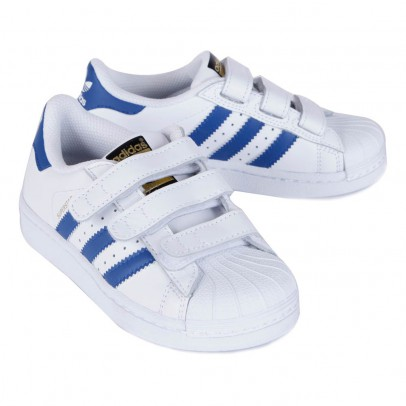 Adidas Sneakers Strappi Superstar Blu-listing