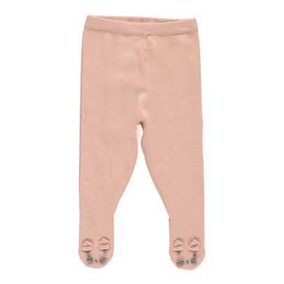 Stella McCartney Kids Snowflake Bunny Feet Leggings-listing