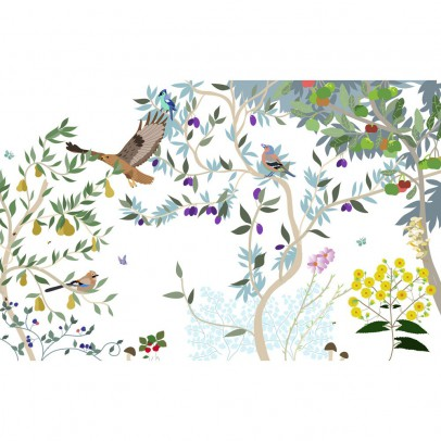 Little Cabari Obstwiese-Tapete 300x350cm-listing