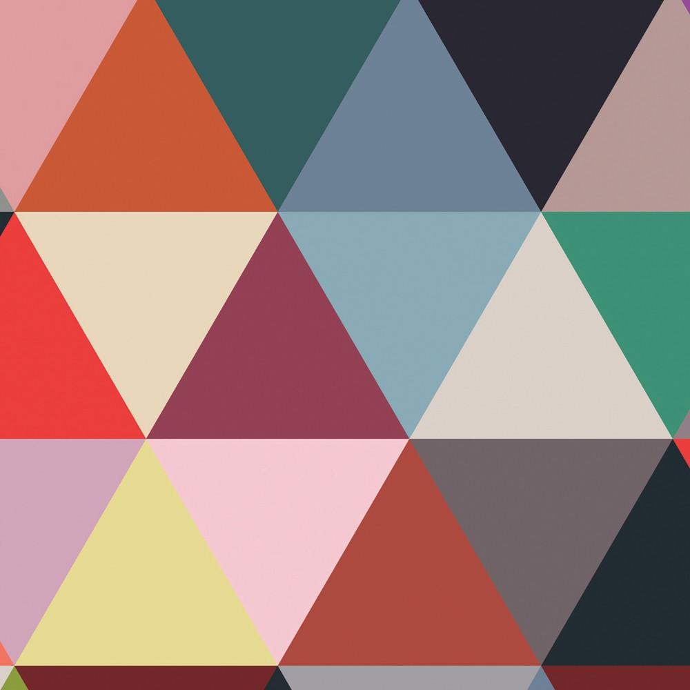 Tapete Mosaik Dreieck 182x280 Cm  2 Tapetenbahnen  Product