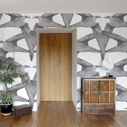 Bien Fait Birds 182x280 cm Wallpaper - 2 strips-listing