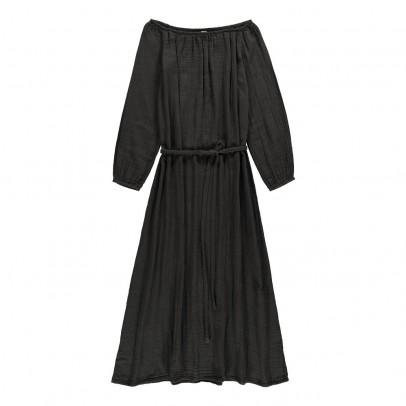 Kleid Cupro Beldi- Damenkollektion Anthrazit Louise Misha Mode