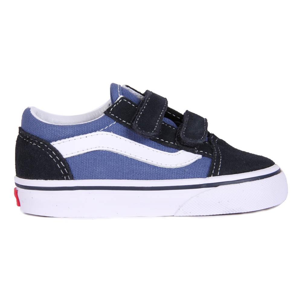 Zapatos azul marino con velcro Vans infantiles mQKMNCAU