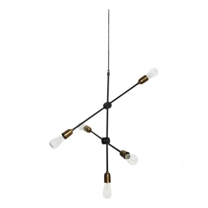 House Doctor Suspension lampe Molecular ajustable-listing