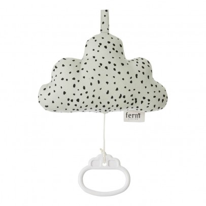 Ferm Living Kids Mobile Musical Cotton Cloud-listing