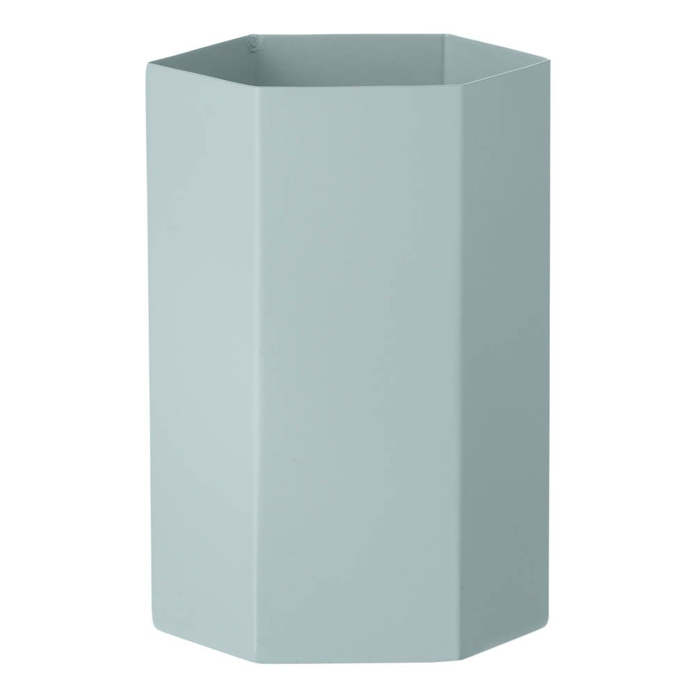 Vase Hexagon en métal H15cm-product