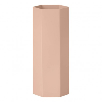 Ferm Living Vase Hexagon en métal H18cm-product