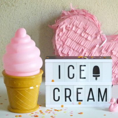 A little lovely company LED Ice Cream Cone Night-Light-listing