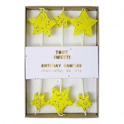 Meri Meri Stars Candles - Set of 12 -listing