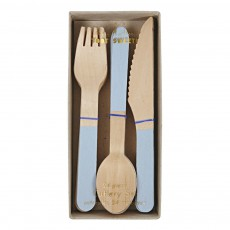 product-Meri Meri Wooden Silverware - Set of 24