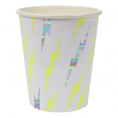 Meri Meri Lighting Paper Cups - Set of 8 -listing