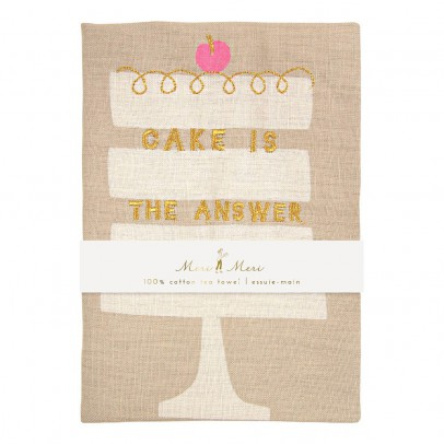 Meri Meri Paño lino pastel Cake is the answer-product