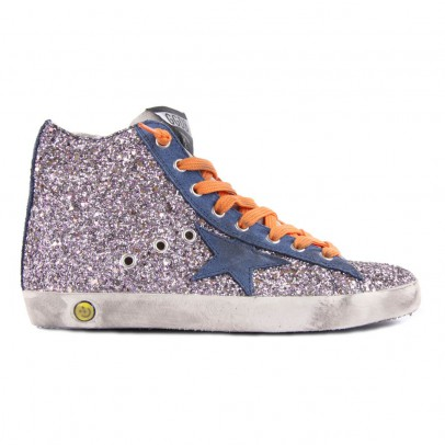 Golden Goose Deluxe Brand Francy Sequined Zip-Up Sneakers-listing