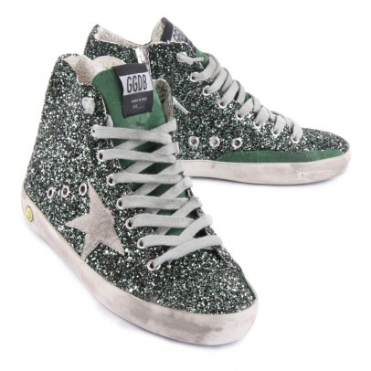 Golden Goose Baskets Zip Paillettes Francy-listing