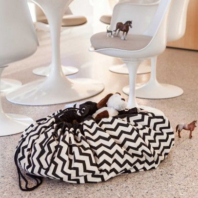 Play and Go Bag/Play mat - Zig zag-listing