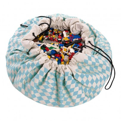 Play and Go Bag and Play carpet - Diamonds -listing