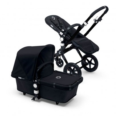 Bugaboo CAMELEON³ Black Frame Complete Pushchair, Black Base-listing