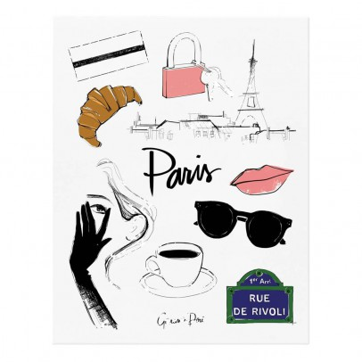 Rifle Paper Co Rifle Paper Paris by Garance Doré Poster - 28x35 cm-listing