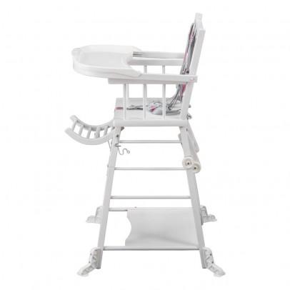 Chaise haute transformable Marcel - Laqué Combelle Design Bébé