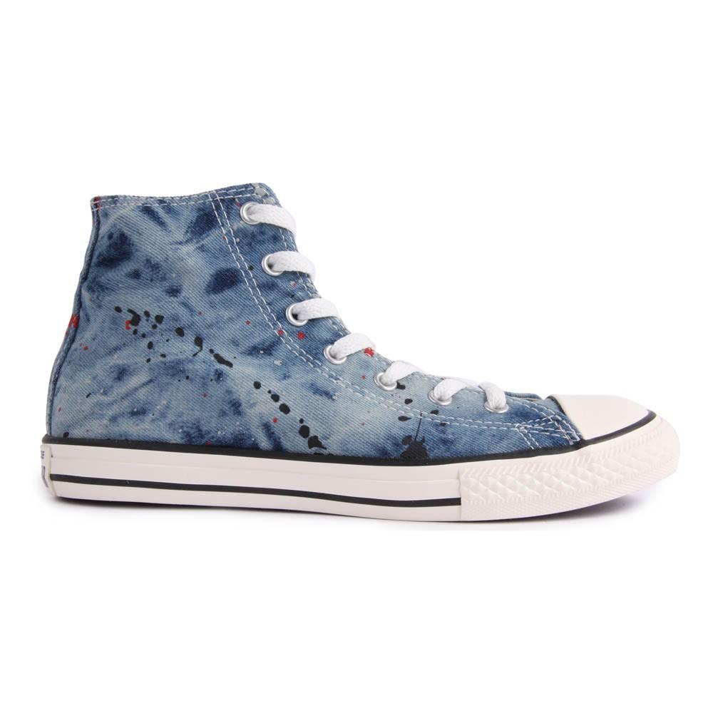 converse bleu jean