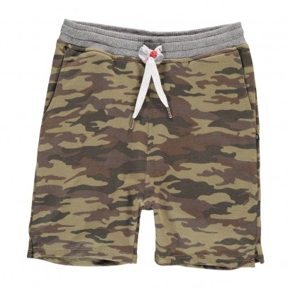 Sweet Pants Short Molleton Loose Camouflage-listing