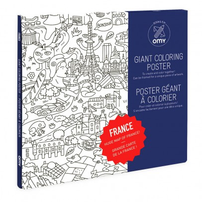 Omy Gigantic France Poster-product